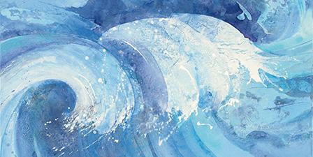 Blue button jellyfish blocks ultraviolet rays, Hawaiian I...