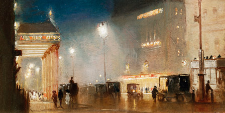 The Haymarket, London By George Hyde-Pownall
