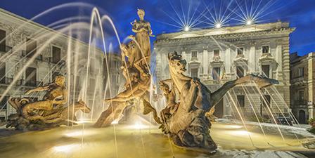 Fountain at Kew gardens, Kew, London, London, England.