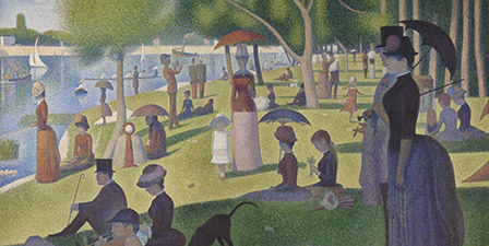 A Sunday on La Grande Jatte, 1884-86