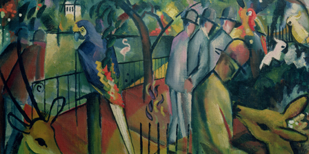 Zoological Garden I, 1912 (oil on canvas)