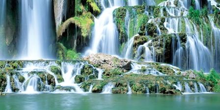 Waterfall Canvas Art Prints Waterfall Panoramic Photos