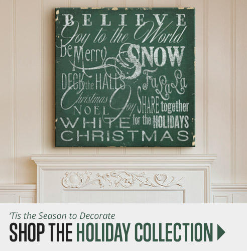 Shop Holiday Decor Wall Art