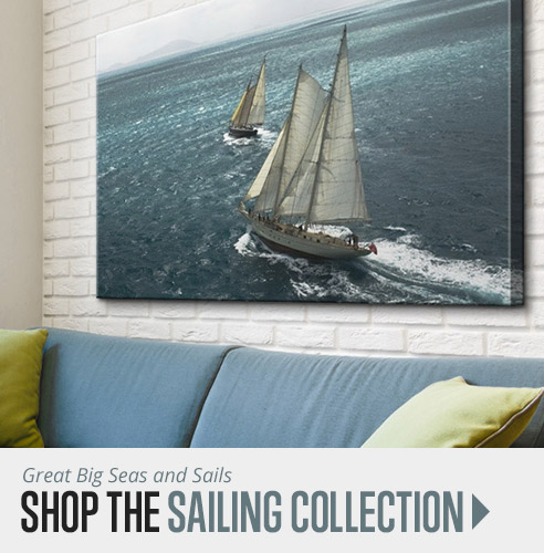 shop sailing wall art