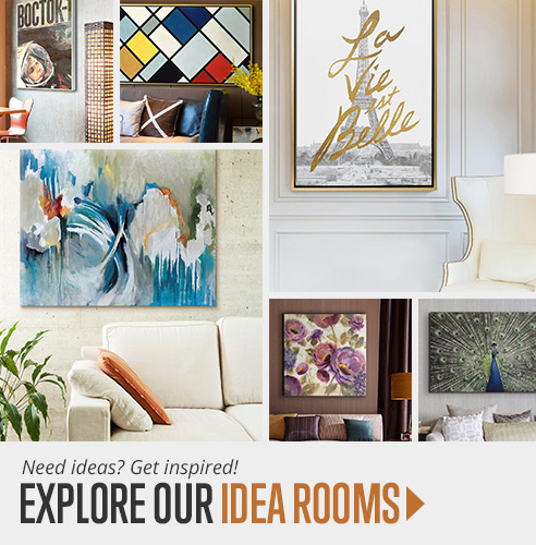 Be inspired. Get ideas for your wall art project.