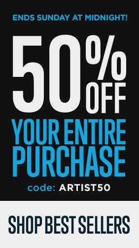 Save 50% on popular wall art
