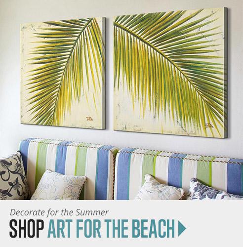 Shop coastal wall art for the beach house