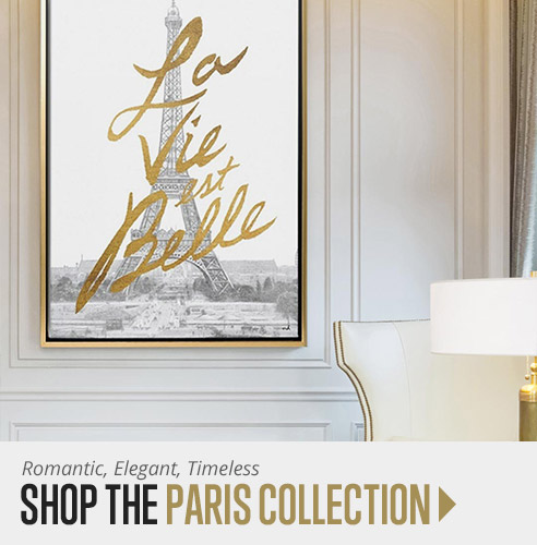 Shop Paris Wall Art