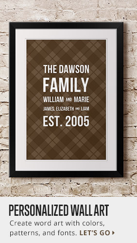 Personalize a Custom Bus Roll Wall Art