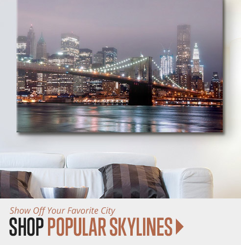 shop city skylines wall art