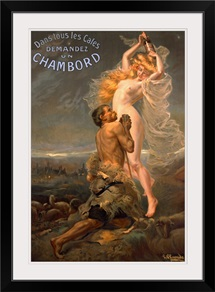 Chambord by Pinrrido, Vintage Poster