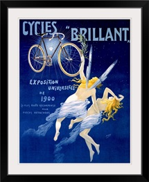 Cycles Brilliant, Vintage Poster, by Henri Gray