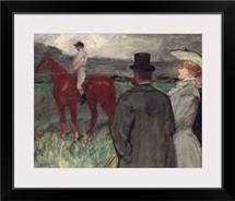 At the Racecourse, 1899 (oil on canvas)