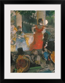 Cafe Concert at Les Ambassadeurs, 1876 77 (pastel on paper)
