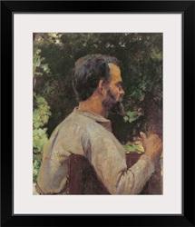 Head of a Man, Monsieur Etienne Devismes, 1882 (oil on canvas)