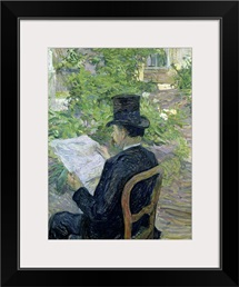 Monsieur Desire Dihau (1833 99) 1890 (oil on canvas)