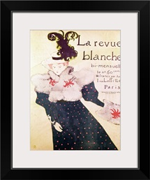 Poster advertising La Revue Blanche, 1895 (litho)