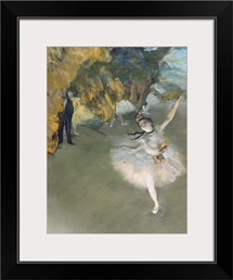 The Star, or Dancer on the stage, c.1876 77 (pastel on paper)