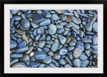 Pebbles on beach