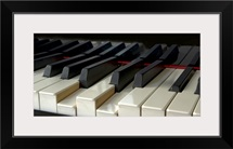Piano keyboard.