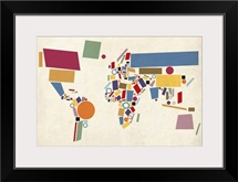World Map Abstract