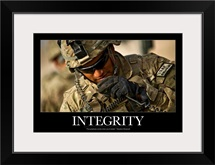 Motivational Poster: Integrity