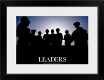 Motivational Poster: Leaders