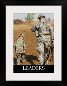 Motivational Poster: Leaders