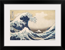 Under the Wave off Kanagawa, from the series Thirty-six Views of Mount Fuji