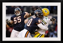 Julius Peppers Tackles Aaron Rodgers