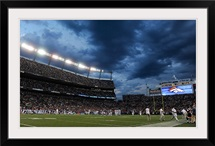 Storm Clouds Over Sports Authority Field at Mile High Stadium