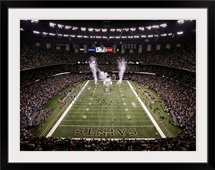 The Saints Enter the Superdome