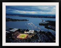 Washington: Aerial View of Husky Stadium