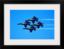 Blue Angels flying in formation