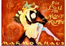 Carnival at Marmorhaus, Vintage Poster