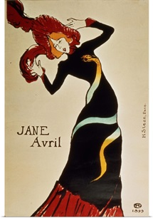 Jane Avril (1868 1943) 1899 (colour litho)