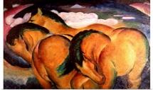 Little Yellow Horses, 1912 (oil on canvas)