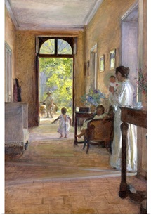 Morning Joy (oil on canvas)