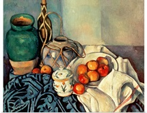 Still Life with Apples, 1893 94 (oil on canvas)