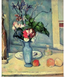 The Blue Vase, 1889 90 (oil on canvas)