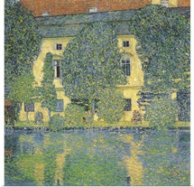 The Schloss Kammer on the Attersee III, 1910 (oil on canvas)