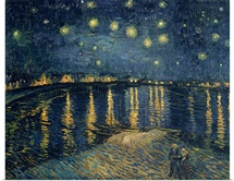 The Starry Night, 1888 (oil on canvas)