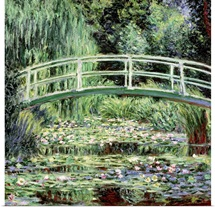 White Waterlilies, 1899 (oil on canvas)