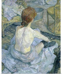 Woman at her Toilet, 1896 (oil on cardboard) (see 146949)