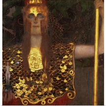 Minerva Or Pallas Athena By Gustav Klimt