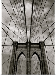 Brooklyn Bridge in New York.