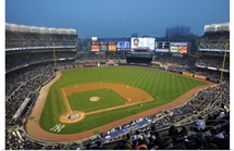 New Yankee Stadium in the Bronx, New York on Friday, April 3, 2009