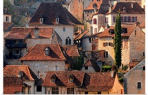 Village of Saint Cirq Lapopie, Quercy region, France