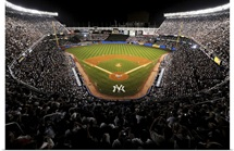 Yankee Stadium during the last regular season game in 2008
