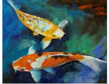 Sanke Koi Painting